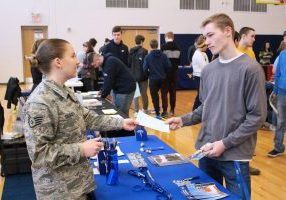 Cameron High School recently held the 4th annual CHS College and Career Fair.